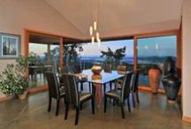 Salt Spring Island dining spaces.... / West Coast dreaming...special spaces on the Canadian Gulf Islands...dining with a view.