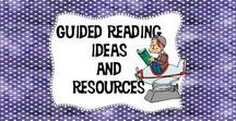 """Guided Reading (and More) Ideas and Resources / Do you need a new idea for guided reading? How about literature circles? Maybe you just need reading resources in general. If so,  you've come to the right place! Lots of freebies and some great paid resources too will help you add a little """"spice"""" and excitement into your reading instruction!"""