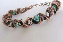 Wire Work Bracelets / Wire Work Bracelet inspiration board