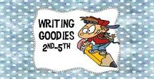 Writing Goodies 2nd-5th / Do you need a great writing idea! Get lots of them right here!