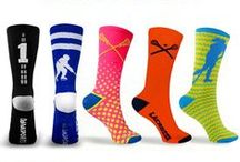 Socks / What better way to bring style to the field or show your love for your favorite sport by wearing it on your feet? Step up your sock game with our Sports Socks. Our unique and fun designs make these socks great to wear on and off the field. Choose from Woven, Printed or Knee Socks. Our socks are made to last and with an impressive amount of designs you can find a pair for every athlete in your life. Only at ChalkTalkSPORTS.com