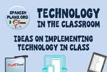 Technology / Technology for Classroom, Spanish Tech, Apps, Web2.0,