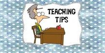 Teaching Tips / Awesome ideas and great freebies for your classroom!