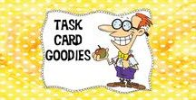 Task Card Goodies / The place to come for task card ideas, freebies, and resources!