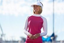 Sun Protection For Her / Fashionable and fun Sun Protective Clothing for Her. Featuring UPF 50+ styles that protect against over 98% of UVA and UVB rays.  / by UV Skinz - UPF 50+ Sun Protective Clothing