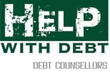 Help with Debt - Debt counsellors / Debt counselling and debt review in South Africa www.helpwithdebt.co.za Skuldberading en Skuldhersiening www.hulpmetskuld.co.za