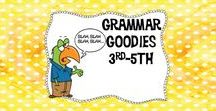 Grammar Goodies 2nd-5th / Get everything you need to teach grammar! Find games, freebies, ideas, resources and much more!