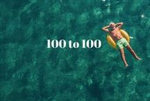 100 to 100 / The first 100 days of 2017, we're bringing expert advice, scientifically-backed tips & easy life changes to help you live to 100!