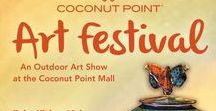 Art Festival: Coconut Point / Coconut Point New Year's Art Festival, Estero, FL, February 17th & 18th, 2018, for dates and more information visit: http://www.artfestival.com/calendar/art