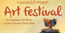 Art Festival: Coconut Point / Coconut Point New Year's Art Festival, Estero, FL, February 17th & 18th, 2018, for dates and more information visit: http://www.artfestival.com/calendar/art