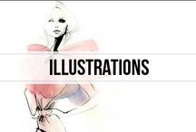 illustrations / sketches and the like of the things the fashionable mind brings to life