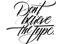 just my type / my luv for all things typography...