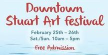 Art Festival: Stuart / Annual Stuart Art Festival, Stuart, FL, February 24th & 25th, 2018, for dates or more information visit: http://www.artfestival.com/calendar/festival