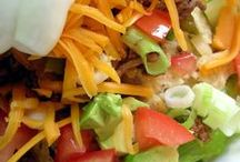 Salads / by Leanna
