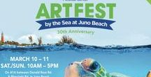 Art Festival: Art Fest by the Sea / Art Fest by the Sea, Juno Beach/ Jupiter, FL, March 10 & 11th, Located along A1A in Juno Beach/Jupiter, for dates and more information visit: http://www.artfestival.com/calendar/art