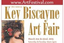 Art Festival: Key Biscayne / Key Biscayne Rotary Club Art Festival, March 21st & 22nd, 2015, for dates or more information visit: http://www.artfestival.com/calendar/festival