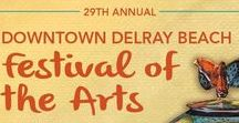 Art & Craft Festival: Delray (January) / Downtown Delray Beach Festival of the Arts  Delray Beach, FL Winter  For dates and more information visit: http://www.artfestival.com/calendar/festival