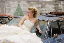 """Junk Yard Shoot Shoot & Mingle - Photographers Work / """"Shoot & Mingle"""" - Junk Yard Bride - A free Themed Shoot hosted by Photographers Cindy McFarland & A Photo by Ashley for Photographers. Featuring great participating Vendors as well."""