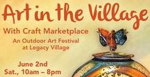 Art Festival: Art in The Village / Annual Art in the Village Cleveland, Ohio   For dates and more information visit: http://www.artfestival.com/calendar/art