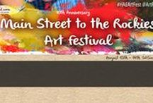 Art Festival: Frisco / Main Street to the Rockies Art Festival, Frisco, CO, August 11th & 12th, 2018, for dates or more information visit: http://www.artfestival.com/calendar/festival