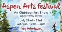 Art Festival: Aspen / 15th Annual Downtown Aspen Art Festival  Aspen, Colorado Summer  For dates and more information visit: http://www.artfestival.com/calendar/art
