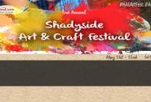 Art Festival: Shadyside / The Art Festival on Walnut Street, Shadyside, PA, August 25th & 26th, 2018, for dates or more information visit: http://www.artfestival.com/calendar/festival