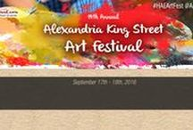 Art Festival: Alexandria King Street / 14th Annual Alexandria King Street Art Festival, Alexandria, VA, September 15th & 16th, 2018, for dates and more information visit: http://www.artfestival.com/calendar/art