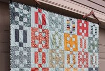 Quilts - scrappy / by Jean Hunter