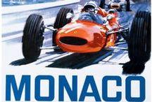 Racing Posters Vintage