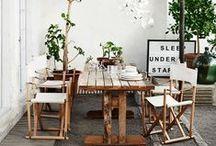 HOME || GARDEN + PATIO / Decor Ideas for garden and patio