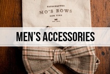 men's accessories / from cufflinks to bow-ties, sometimes the accessories make the man