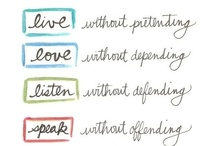 Words that I love