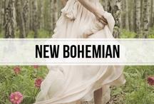 new bohemian / la vie bohème #fashion