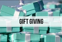 gift giving / 'tis better to give than to receive, but it's also good to give someone a few hints