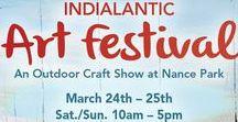 Art Festival: Indianlantic / Annual Indianlantic Craft Festival, Melbourne, FL. July 7th & July 8th, 2018, for dates or more information visit: http://www.artfestival.com/calendar/festival