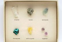 Rocks / We adore gemstones, their colors, shapes and energy are astonishing. Don't you agree?