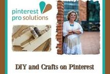 *WANT DIY & CRAFTS ON PINTEREST? / Highlighting some products and services that you might not think you would see on #Pinterest
