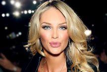Beauty: Hair, Makeup & Nails / Beautiful Glam Hairstyles, Makeup (Exotic Eyes), Nails, etc....❤ / by MsAbigail