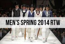 men's spring 2014 rtw