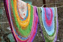 Fabric & Fiber - Crafts, Clothes and Decor / by Claudia Elzinga
