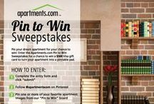 Pin to Win / by Apartments.com