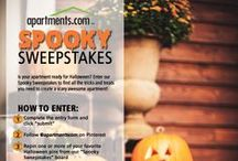 Spooky Sweepstakes / by Apartments.com