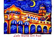 Art Festival: Lake Worth / Lake Worth Beach ArtFest, Lake Worth, FL, November 23rd & 24th, 2013, for dates or more information visit: http://www.artfestival.com/calendar/festival
