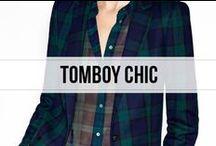 tomboy chic
