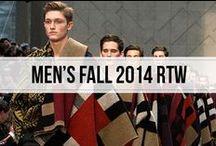 men's fall 2014 rtw / global men's runway fashion fall winter 2014 2015