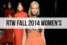 Ready to Wear Fall 2014 Women's