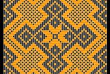 """Weaving ● Patterns ● Kelarai ● / A collection of """"kelarai"""" (checkered patterns) used in mat weaving (Malaysia). For easy reference."""