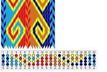 Weaving ● Tablet Weaving ● Patterns (T) ●