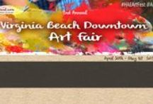 Art Festival: Virginia Beach / Annual Virginia Beach Downtown Art Festival, April 30th - Sunday, May 1st, 2016, for dates or more information visit: http://www.artfestival.com/calendar/festival