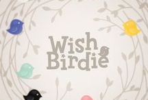 Wish birdie collection / http://applepiepieces.com/collections/wish-birdie